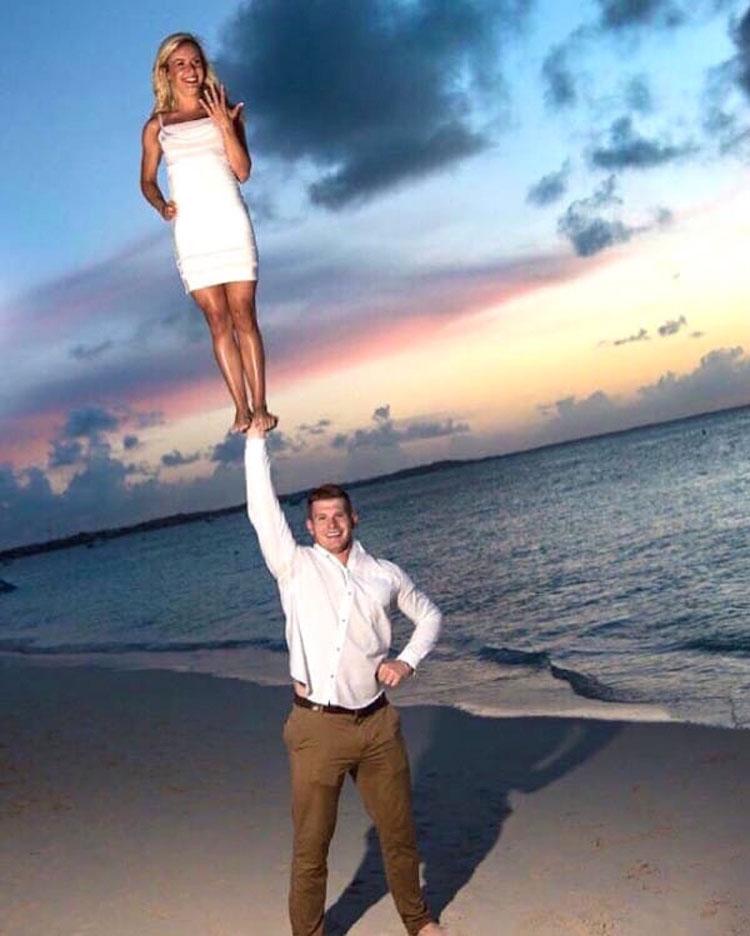 La fotografía de la boda de esta animadora está dando la vuelta al mundo
