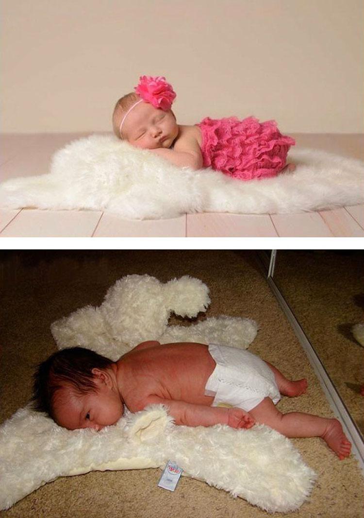 Las 30 fotografías de bebés más desastrosas que hayas visto nunca