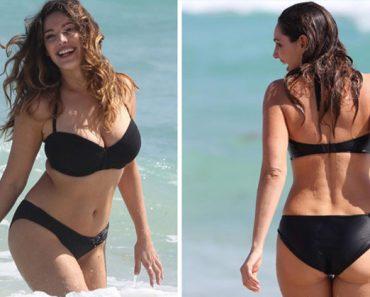 Según la ciencia, esta mujer tiene el cuerpo ideal. ¿Qué opinas?