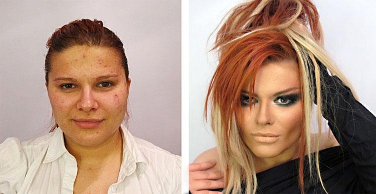 Estas 17 imágenes muestran hasta qué punto puedes mentir con el maquillaje