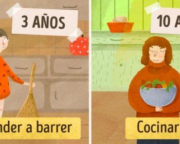 Según el método Montessori, en esto puede ayudarte tu hijo en casa