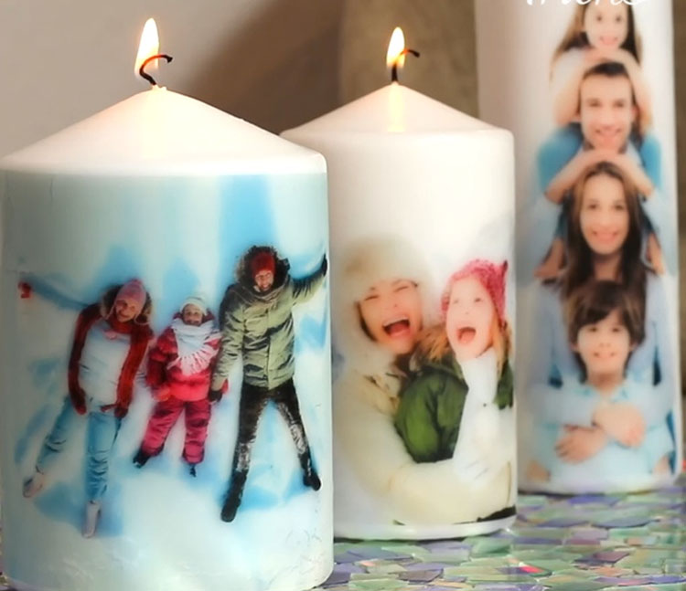 Apunta con tu secador a una vela y en un minuto tendrás el regalo de Navidad perfecto. ¡Fantástico!