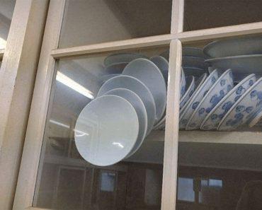 ¿Puedes abrir el armario sin romper los platos? El nuevo acertijo viral de Facebook