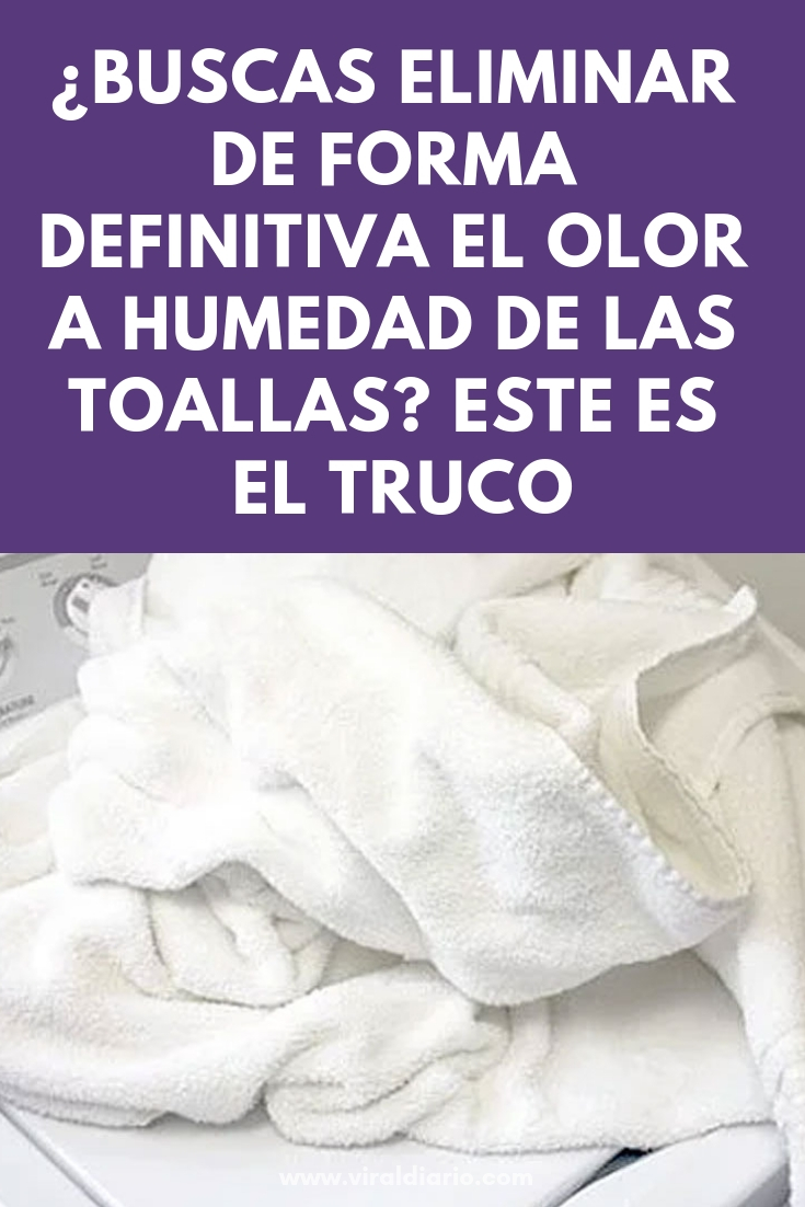 ¿Buscas eliminar de forma definitiva el olor a humedad de las toallas? Este es el truco