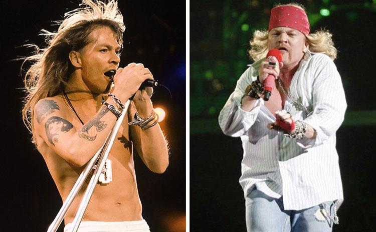 20 famosos a los que el paso del tiempo los ha hecho irreconocibles