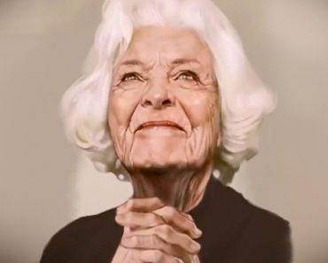 Esto parece un cuadro de una mujer mayor, ahora mira MÁS DE CERCA...