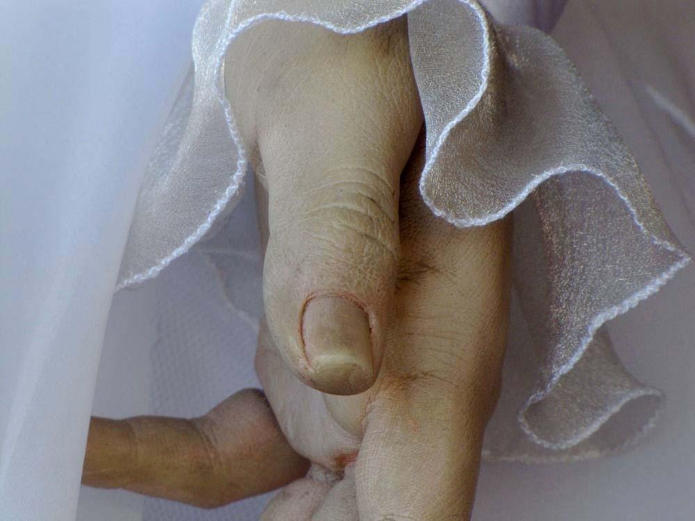 """Conoce a la """"Pascualita"""", el famoso maniquí-cadáver de una tienda de ropa de México"""