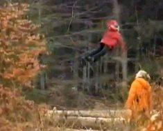 Este hombre paseaba por el bosque cuando se encontró con algo más allá de nuestro entendimiento