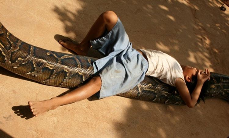 Su hijo desaparece de su vista por un segundo - luego lo encuentran bajo el suelo con ESTO