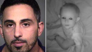Un padre escucha a su bebé llorar, llega hasta ella y se encuentra a un desconocido acunándola