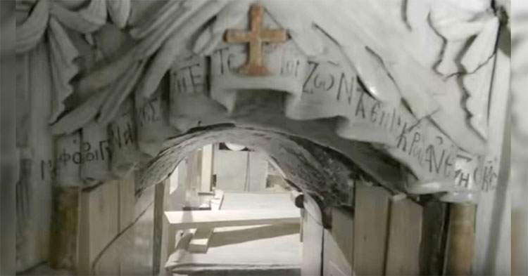Exclusiva: abren la tumba de Jesucristo por primera vez en 500 años