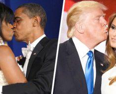 15 diferencias entre los Obama y los Trump que demuestran que el amor NO se puede fingir