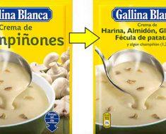 Así tendrían que ser las etiquetas de los alimentos si reflejaran sus ingredientes REALES