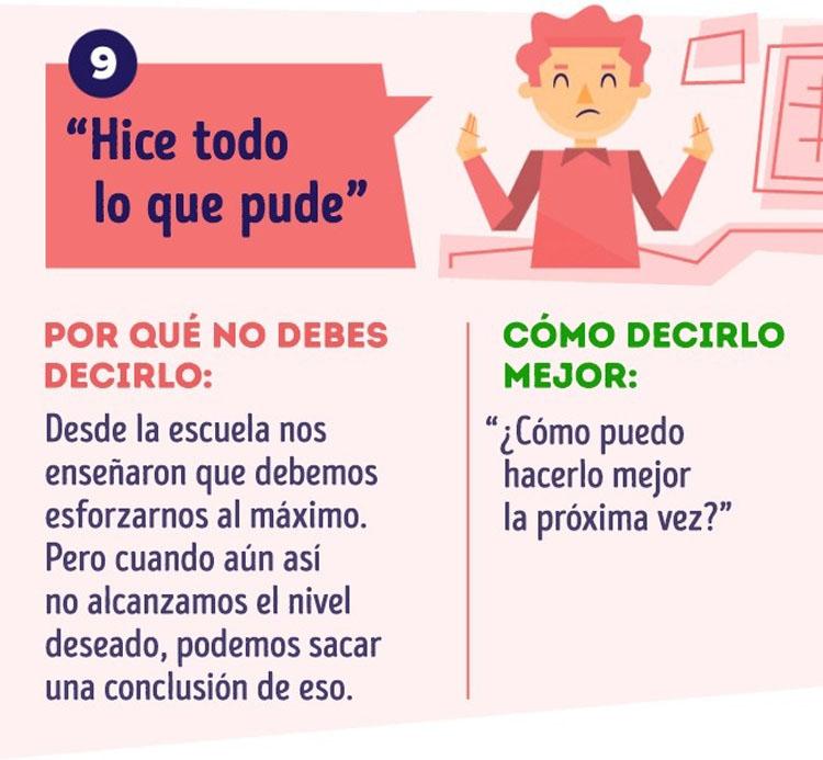 12 Frases que NO debes decir en tu trabajo (y lo que debes decir en su lugar)