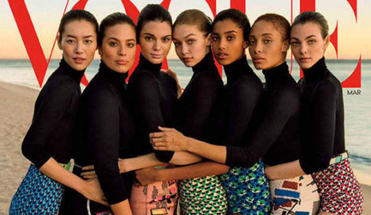 """Esta portada de la revista """"Vogue"""" ha desatado la polémica. ¿Ves la razón?"""