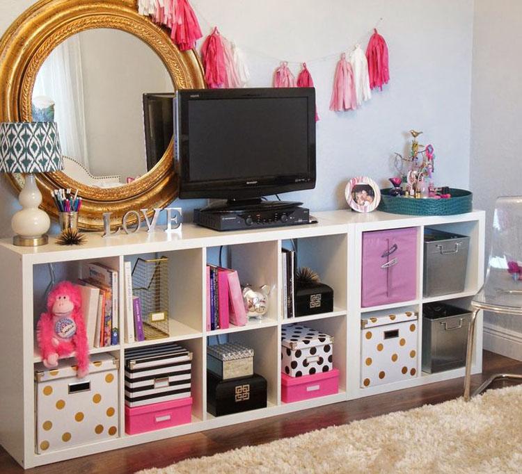 Compra estantes de almacenaje y utilízalos de nuevas e inteligentes maneras por toda la casa