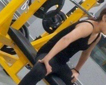La extraña imagen viral de esta mujer en el gimnasio que está confundiendo a todo el mundo