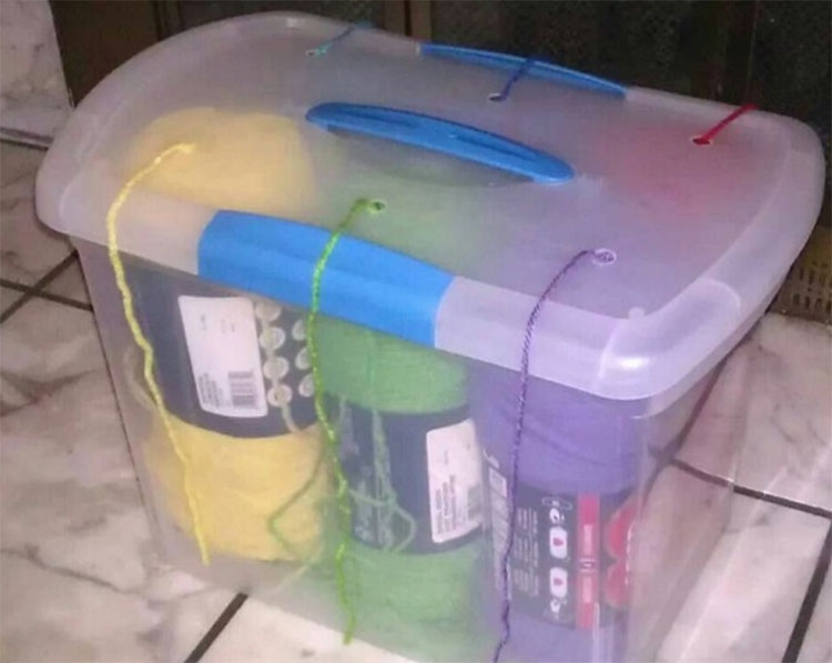 8 ideas fantásticas que utilizan cajas de almacenaje de plástico de maneras que nunca esperarías