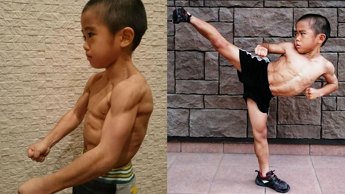 Solo tiene 6 años pero dicen que es la reencarnación de Bruce Lee. Juzga tú mismo