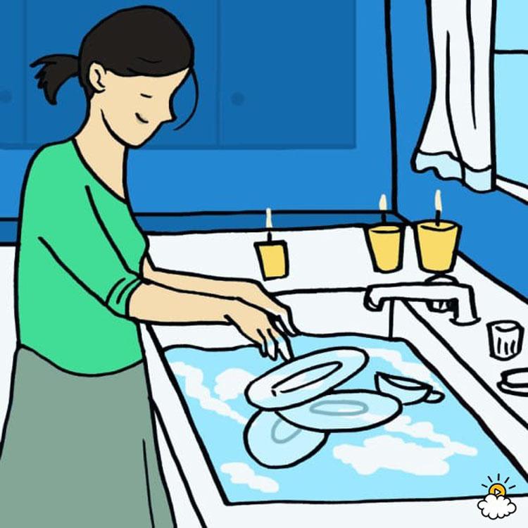 7 cosas que pueden afectar a su salud y a su vida al lavar los platos a mano