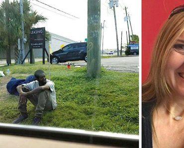 Un triste hombre sin hogar se sentaba en la misma esquina durante 3 años, hasta que esta mujer curiosa le pregunta porqué