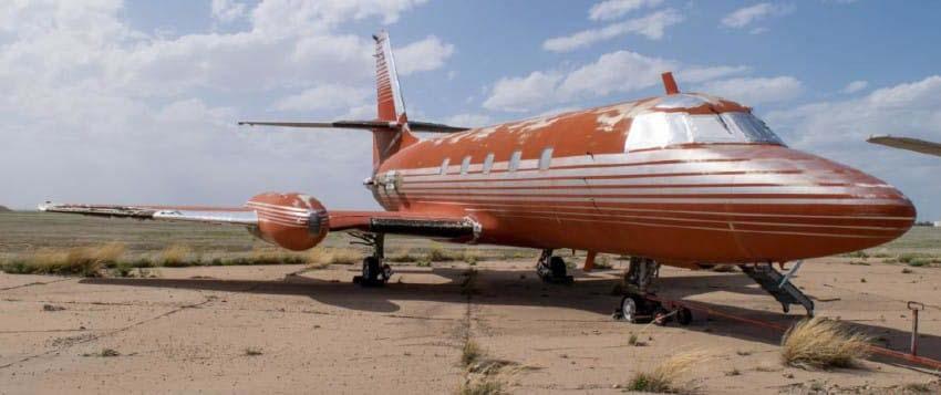 Se ha puesto a la venta el avión privado de Elvis Presley y su interior es absolutamente increíble