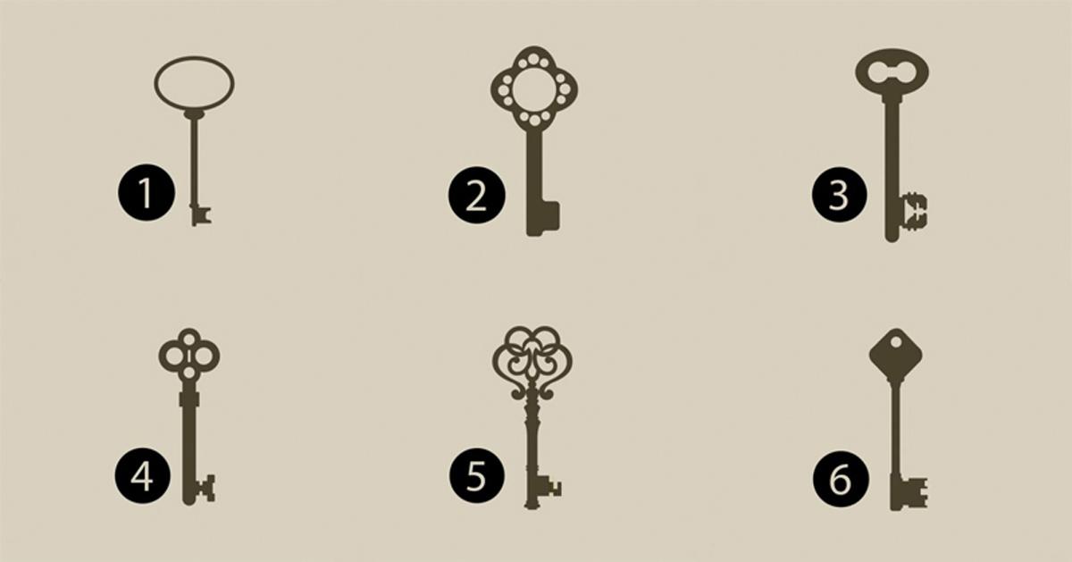 Elije una llave para descubrir tu verdadera personalidad. No tiene base científica pero te sorprenderá
