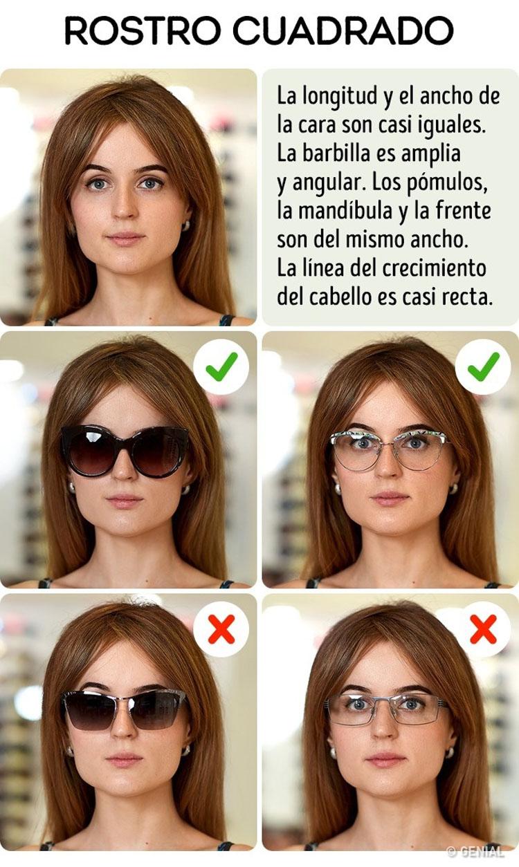 Cómo elegir las gafas de sol perfectas para tu tipo de cara