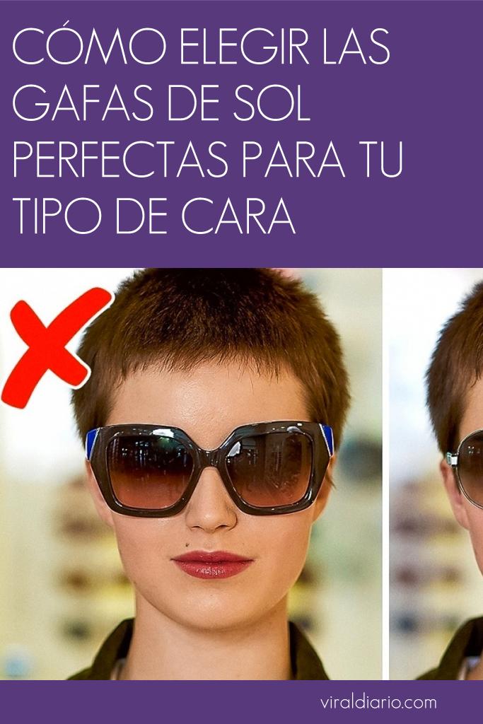 c70a844e9a Cómo elegir las gafas de sol perfectas para tu tipo de cara