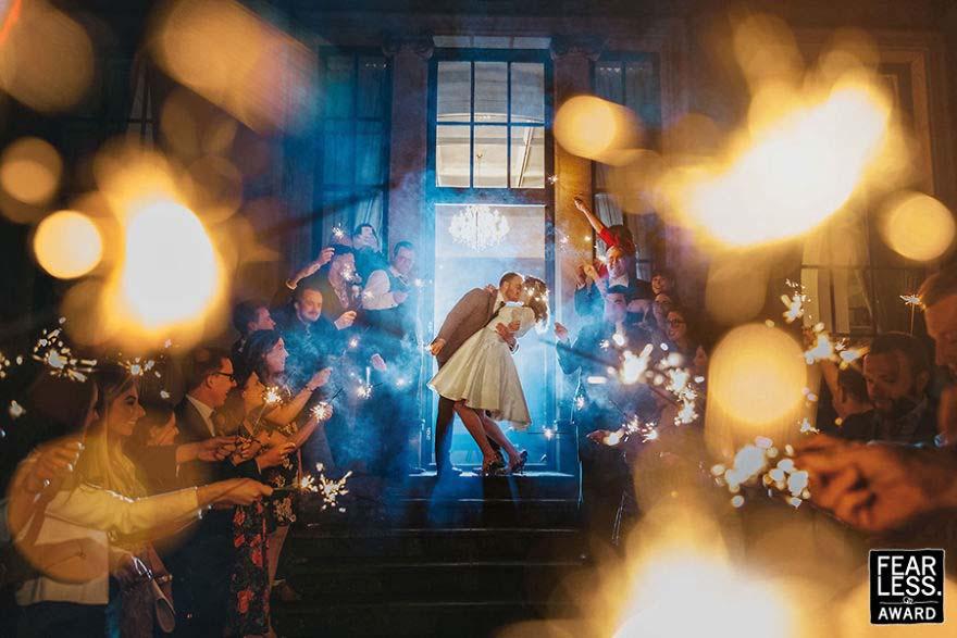 Las mejores fotos de bodas de 2017 te dejarán absolutamente estupefacto
