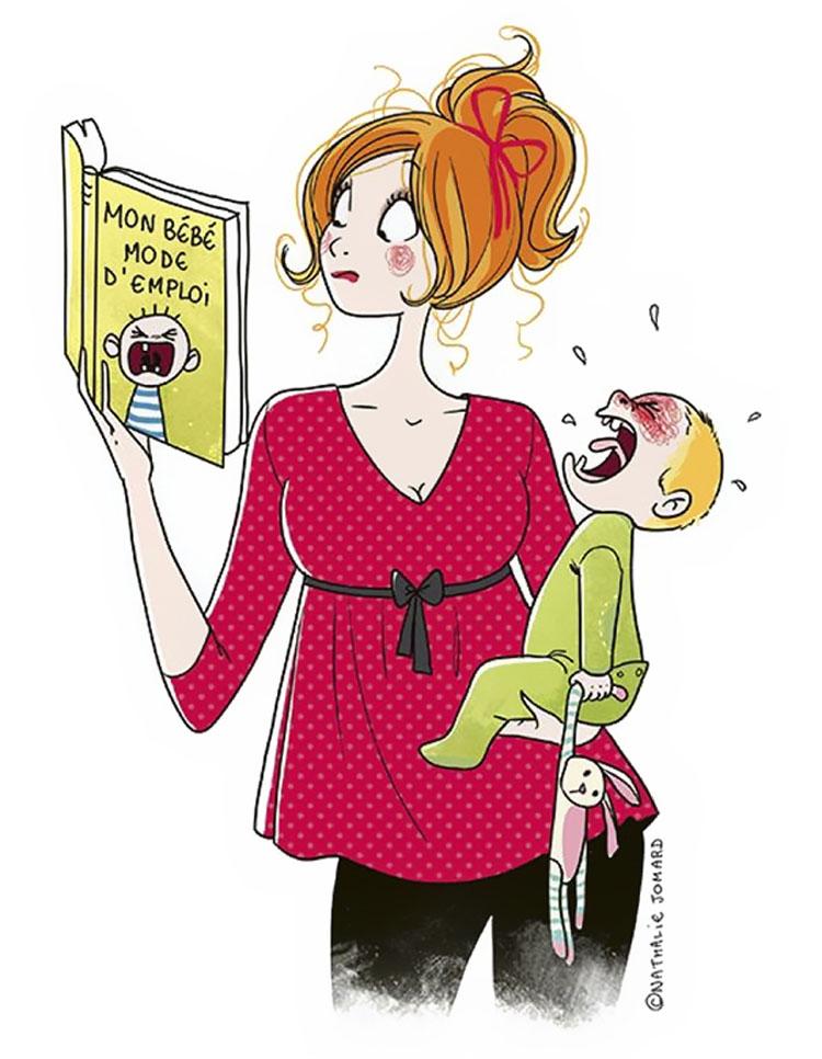 Esta madre ilustra cómo es tener hijos en 25 honestas ilustraciones