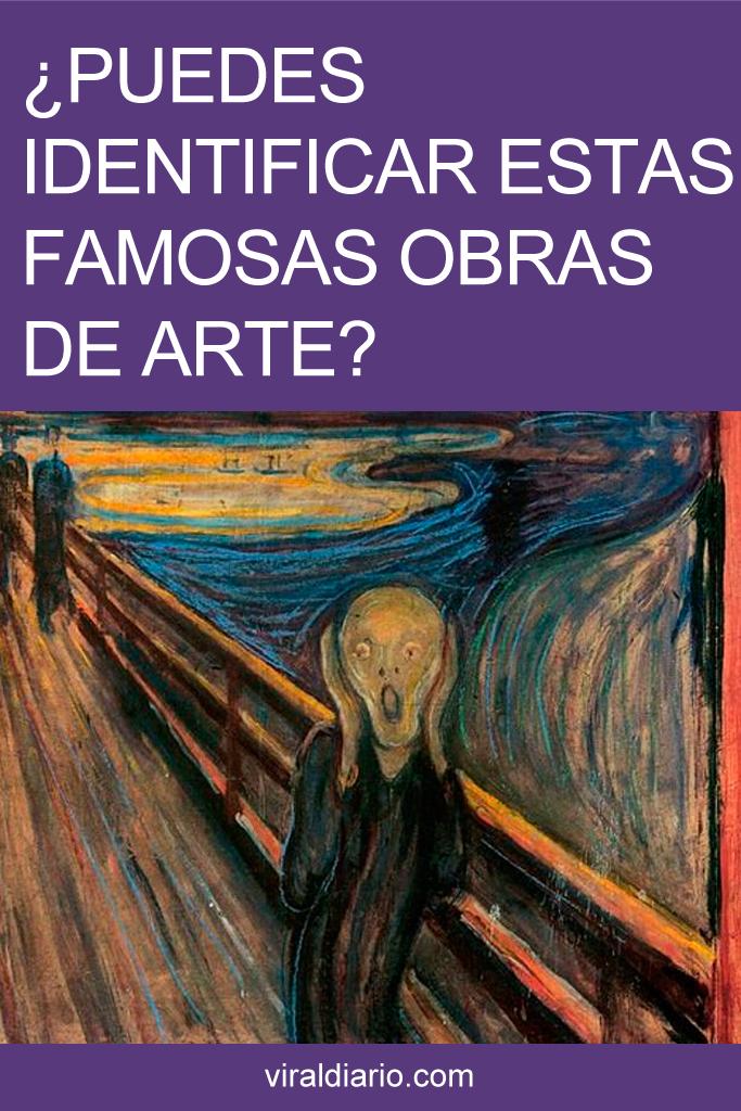 ¿Puedes identificar estas famosas obras de arte?