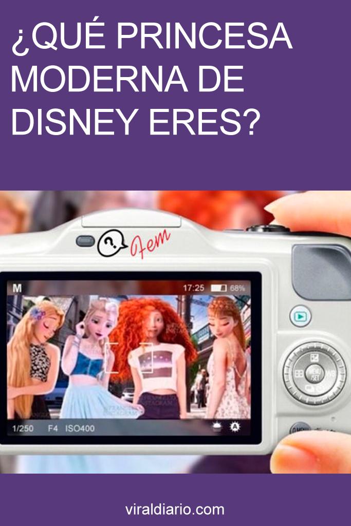 ¿Qué princesa moderna de Disney eres?